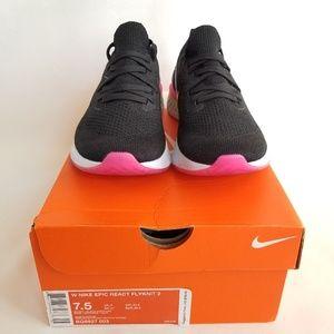 Women's Nike Epic React Flyknit 2 Size 7.5
